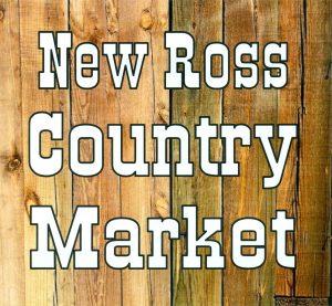 new ross farmer's market logo